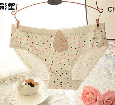 Underwear Women Panties Solid Color Calcinha Tanga Bragas Lingerie Cut-iuly.com