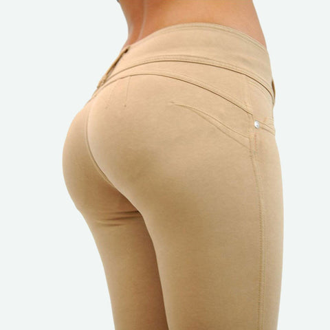 8 Colors Elastic Skinny Pencil Women Pants Summer Autumn Cotton Slim T-iuly.com