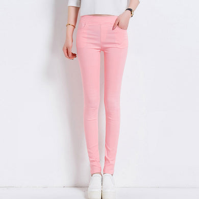 6 Colors Women Pants Plus Size S-3Xl Candy Colored Skinny Leggings Stretch Pencil-iuly.com