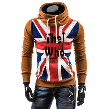 Load image into Gallery viewer, British Flag Print Hoody Mens Sweatshirts, Outwear Fleece Hoodies Men,Big Size-iuly.com