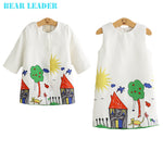 Girls Clothing Sets Winter Girls Clothes Graffiti Printing Girls Outerwear+Girls-iuly.com