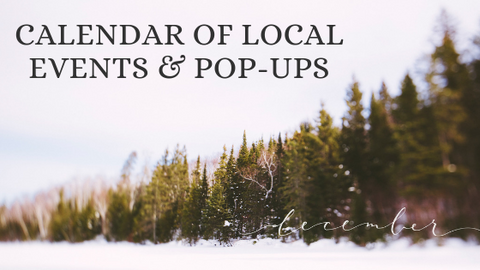 December Calendar of Local Events & Pop-Ups