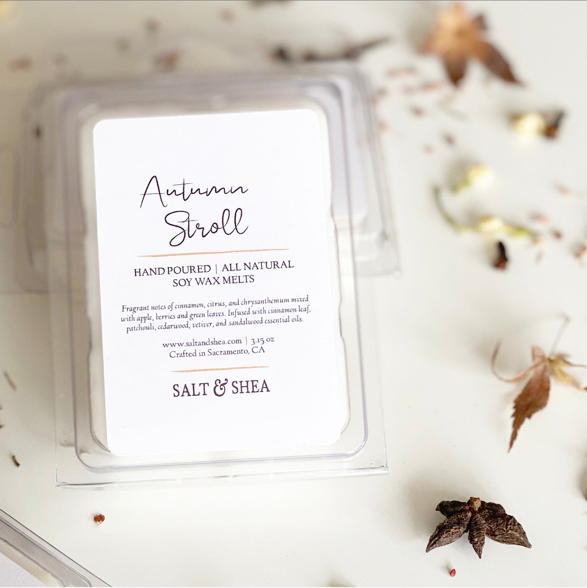 Autumn Stroll Soy Wax Melts