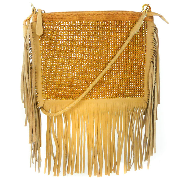 LUXCHILAS - Clutch With Fringes & Strap - Clutch