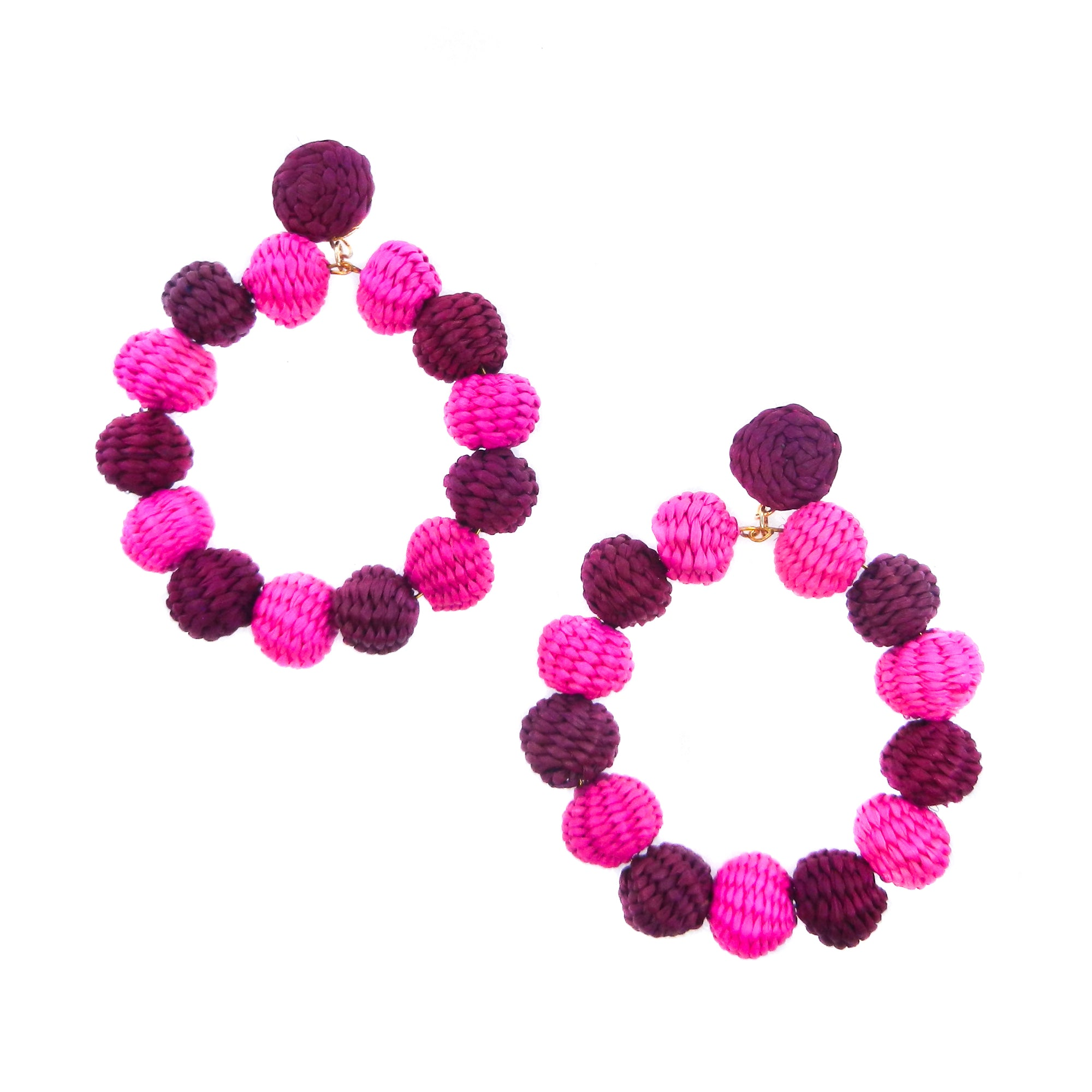 Iraca Maxi Hoops With Stud