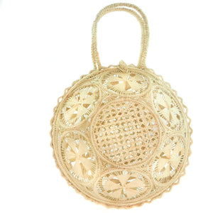 LUXCHILAS Straw Bag - Panera Natural