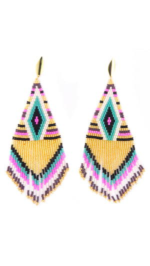 Beaded Embera Earrings