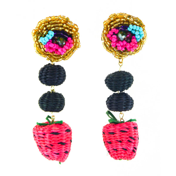 LUXCHILAS - Earrings - Iraca Fruit Earrings