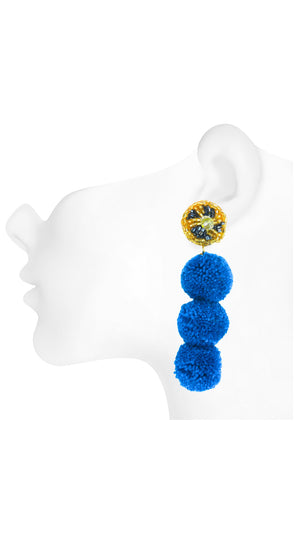 Tassel / Pom Pom Earrings