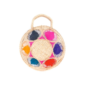 LUXCHILAS Straw Bag - Panera Multicolor
