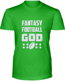 """Fantasy God"" T-Shirt - Average Joes Fantasy Football Apparel"