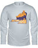 """Average Joes"" Long Sleeve Shirt - Average Joes Fantasy Football Apparel"