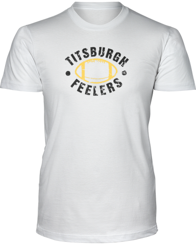 """Titsburgh Feelers"" T-Shirt - Average Joes Fantasy Football Apparel"