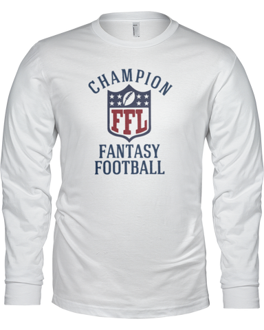 Champion Long Sleeve Shirt - Average Joes Fantasy Football Apparel