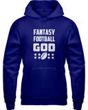 """Fantasy Football God"" Hoodie - Average Joes Fantasy Football Apparel"