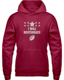 """I Will Rosterbate"" Hoodie - Average Joes Fantasy Football Apparel"