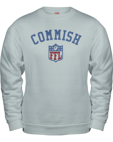 """Commish"" Sweatshirt - Average Joes Fantasy Football Apparel"