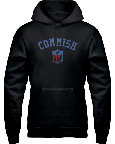 """Commish"" Hoodie - Average Joes Fantasy Football Apparel"