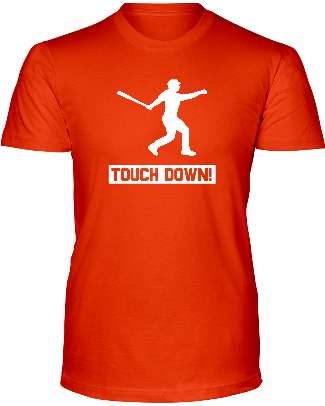 """TOUCHDOWN"" T-SHIRT - Average Joes Fantasy Football Apparel"