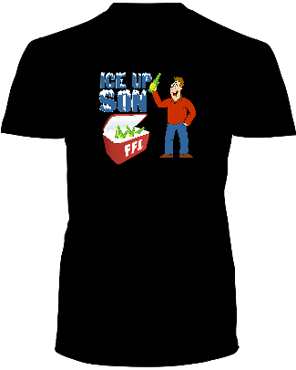 """ICE UP SON""  T- Shirt - Average Joes Fantasy Football Apparel"
