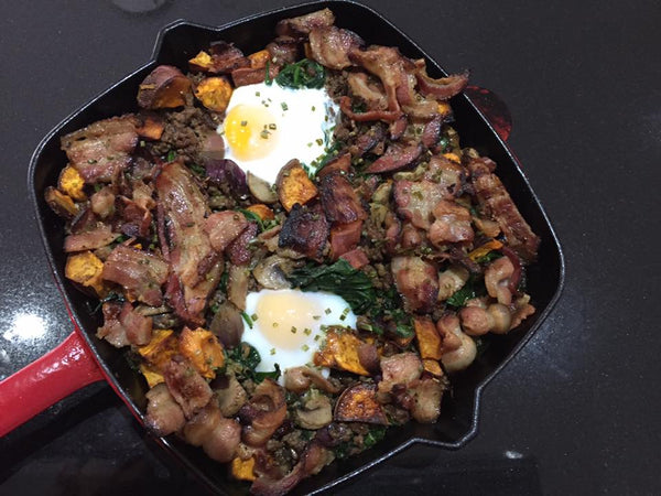 Loaded Paleo Breakfast Skillet