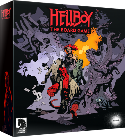 Tutor Games Hellboy board game