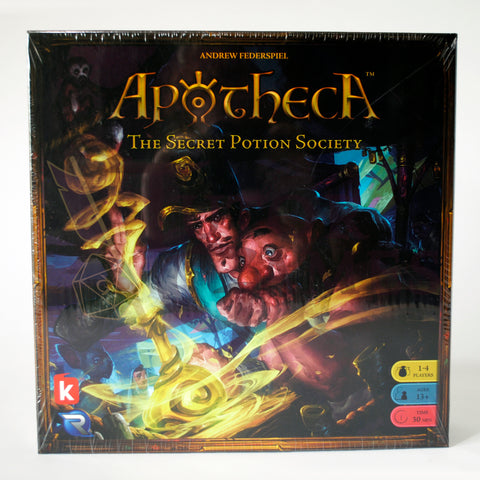 Apotheca The Secret Potion Society Board Game