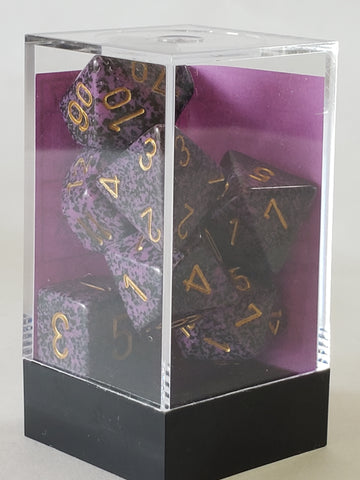 Dice Set Speckled