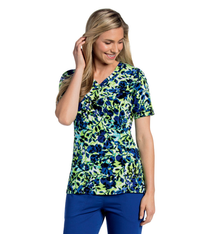 SWEETHEART SCRUB TOP