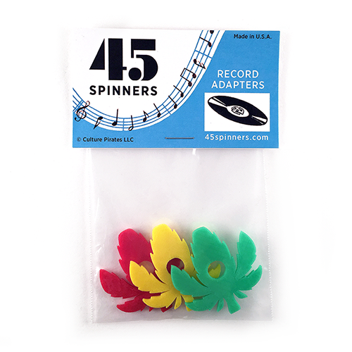 45 Spinners - Leaf 3-pack