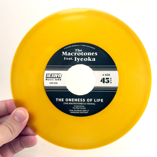Destroy Babylon + The Macrotones - Split 7""