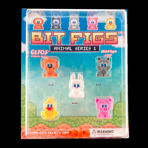 Bit Figs - Animal Display 5-Pack
