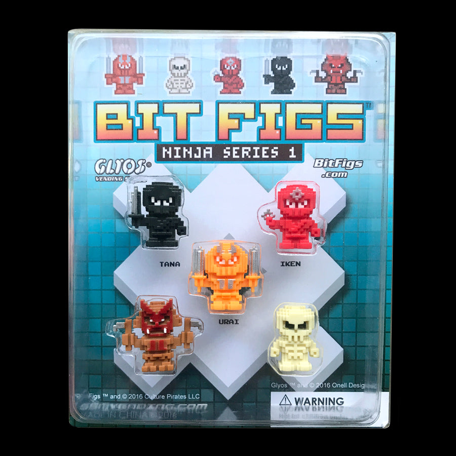 Bit Figs - Ninja Display 5-Pack