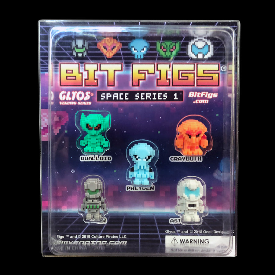 Bit Figs - Space Display 5-Pack