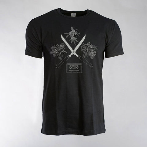 Flying Vipers - Cuts Black T-Shirt