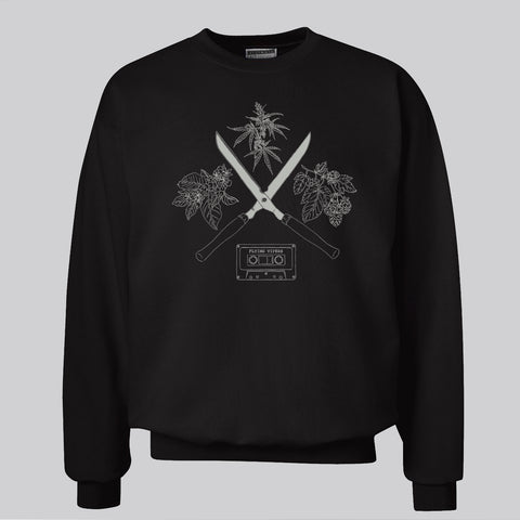 Flying Vipers - Cuts Black Sweatshirt
