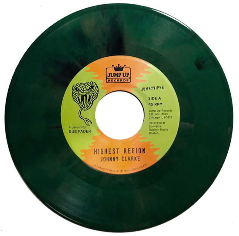 Flying Vipers - Johnny Clarke 45