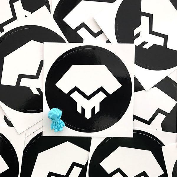 Glyos Logo Stickers
