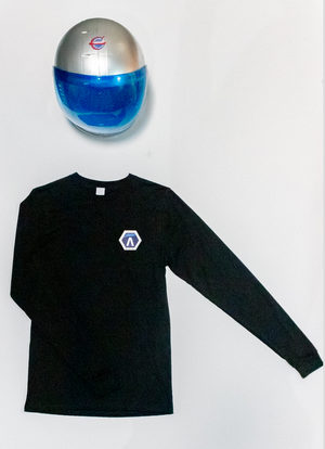 Q x Pacific Spaceflight Black Long Sleeve Shirt