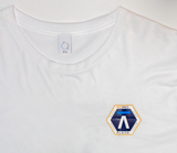 Q x Pacific Spaceflight White Short Sleeve Shirt