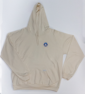 Querencia Studio x Pacific Spaceflight Cream Hoodie