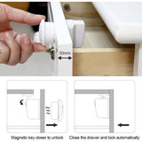 BabySafe - Magnetic Cabinet Locks (4 PCS)