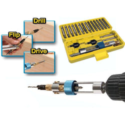Double Drill Driver - 20Pcs Screwdriver Set