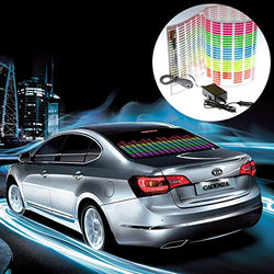 Colourful LED Car Sticker Music Rhythm Light