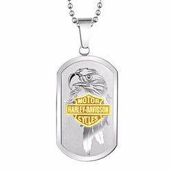 Harley-Davidson® Est. 1903 Eagle Bar & Shield Dog Tag