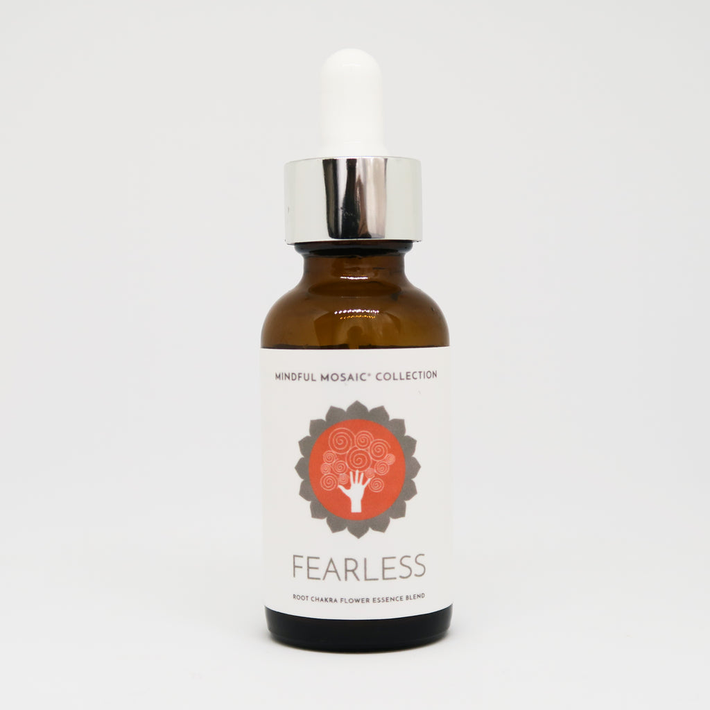 FEARLESS - Root Chakra Flower Essence Remedy