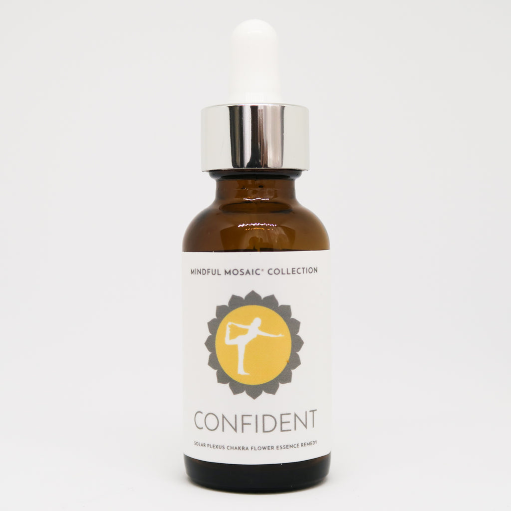 CONFIDENT - Solar Plexus Flower Essence Remedy