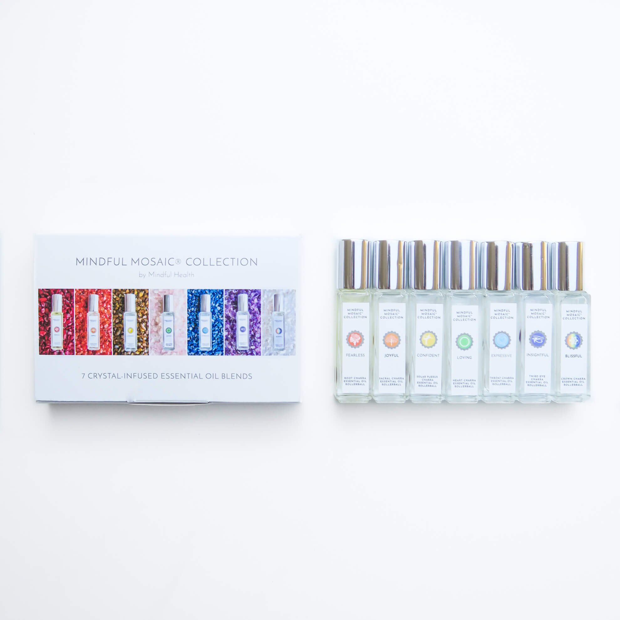 7 Chakras Essential Oil Set