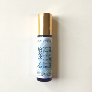 Be Well Magnesium Oil Roller: Wellness Remedy - Cold + Immunity Support