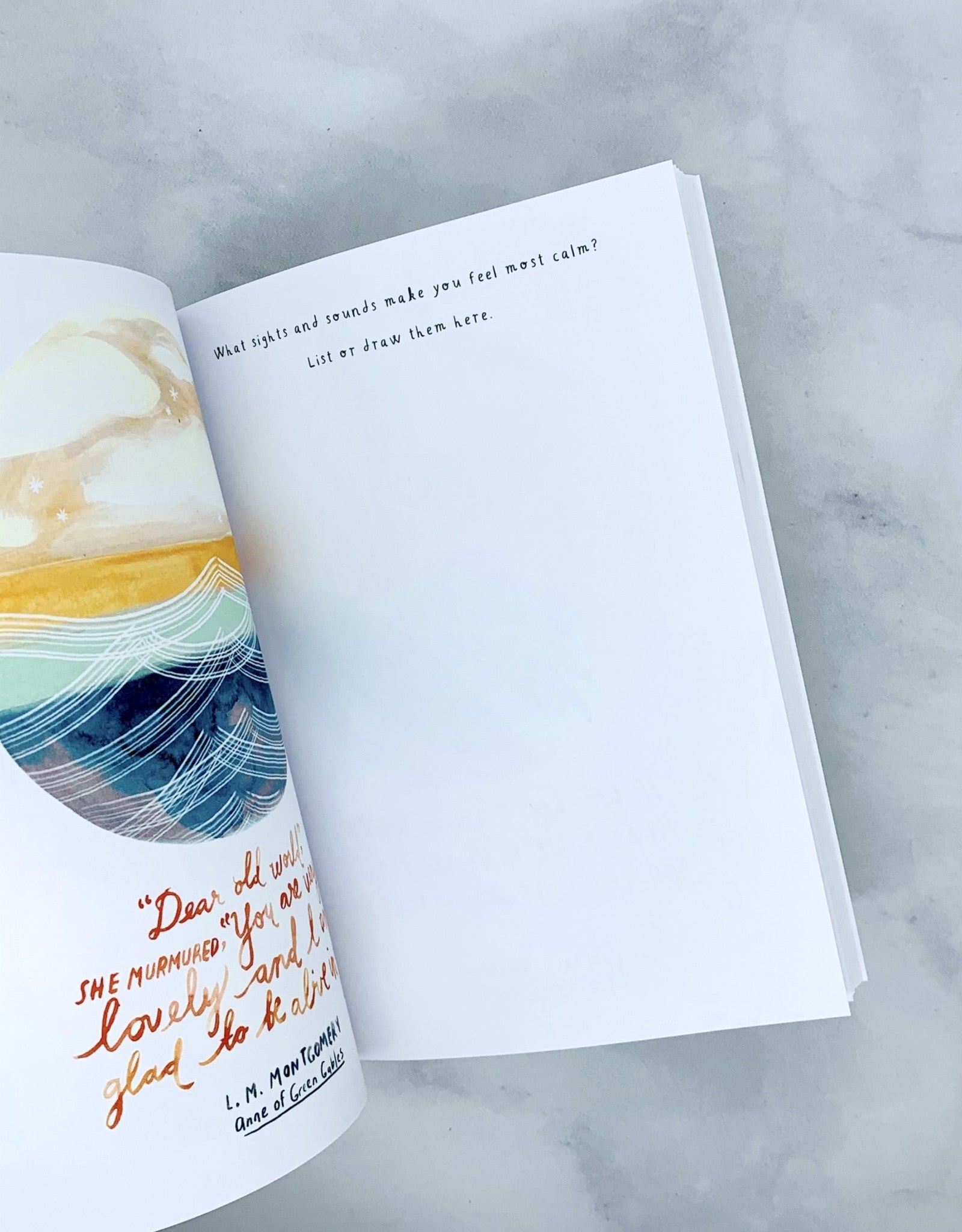 """Create Your Own Calm"" Journal"